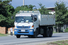 Dump truck of PNS Sine. Royalty Free Stock Photos