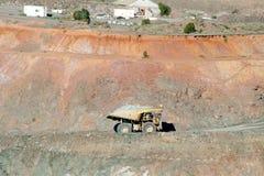 Dump Truck. In Super Pit - Kalgoorlie - Australia stock photography