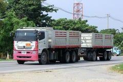 Dump truck of Tanachai Royalty Free Stock Photo