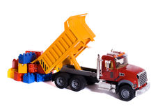 Dump truck toy Stock Photos