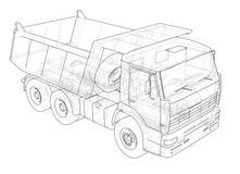 dump truck Vecteur Image stock
