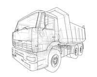 dump truck Vecteur Photo libre de droits