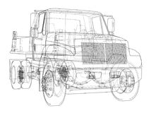 dump truck Vector Fotos de archivo