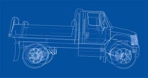 dump truck Vector Fotos de archivo libres de regalías