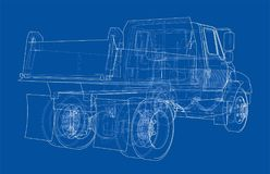 dump truck Vector Foto de archivo