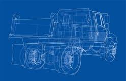 dump truck Vettore illustrazione vettoriale