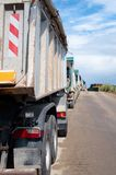 Dump Trucks Royalty Free Stock Image