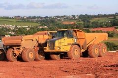 Dump trucks Stock Images