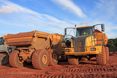 Dump Trucks Stock Photos