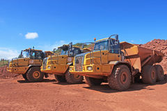 Dump Trucks Stock Photography