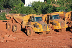 Dump Trucks Royalty Free Stock Photography