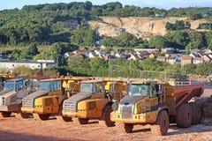 Dump Trucks Royalty Free Stock Photo
