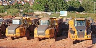 Dump Trucks Royalty Free Stock Image