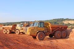 Dump Trucks Stock Photography