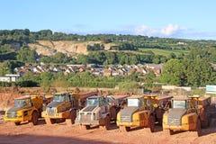 Dump Trucks Royalty Free Stock Photos