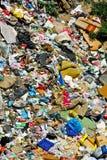 Dump yard. Dumped waste and garbage at dump yard Stock Photos