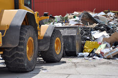 Dump yard Royalty Free Stock Photo