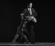 Dump in your arms.-The identity of the mystery-Tango Dance Drama Royalty Free Stock Photo