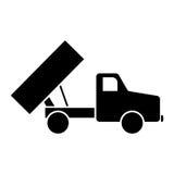 Dumper black color icon . Stock Photography