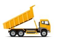 Dumper ciężarówka również zwrócić corel ilustracji wektora Zdjęcia Stock