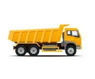 Dumper ciężarówka również zwrócić corel ilustracji wektora Fotografia Stock