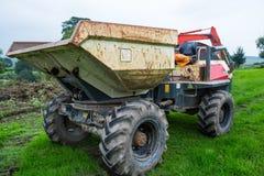 Dumper ciężarówki ekskawator fotografia stock