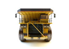 Dumper industrial truck isolated Stock Photos