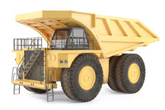 Dumper isolated Royalty Free Stock Photography