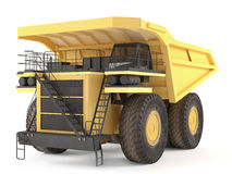Dumper isolated Royalty Free Stock Images