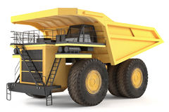Dumper isolated Stock Photos