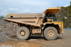 Dumper Truck Royalty Free Stock Photography