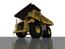 DUMPER TRUCK. 3D MODEL Royalty Free Stock Photography