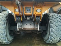 Big dumper truck Stock Images