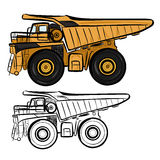 Dumper 1 Royalty Free Stock Images