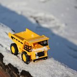 Dumper at work Royalty Free Stock Photography