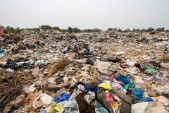 Dumping of garbage Royalty Free Stock Image