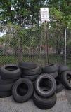 Dumping illegale Immagine Stock