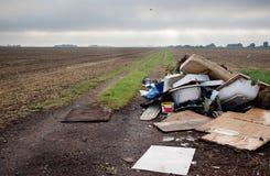 Dumping residuo Immagine Stock Libera da Diritti