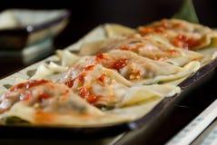 Dumpling appetizer Royalty Free Stock Photos
