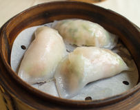 Dumpling in the basket , Chinese Food Royalty Free Stock Images