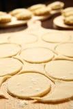 Dumpling dough Royalty Free Stock Photography
