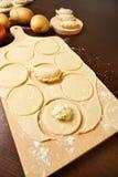 Dumpling dough Royalty Free Stock Image