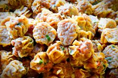 Dumpling food from China. royalty free stock images