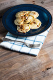 Dumpling with meat. Dumpling with meat and onion Royalty Free Stock Photography