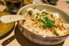 Dumpling Noodle Royalty Free Stock Photography