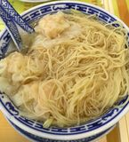 Dumpling Noodles Royalty Free Stock Photo