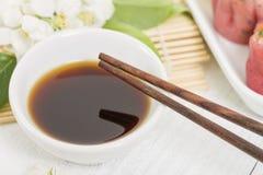 Dumpling Sauce Royalty Free Stock Image