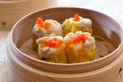 Dumpling, Shumai, shāomài, siu mai, shaomai Stock Image
