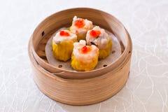 Dumpling, Shumai, shāomài, siu mai, shaomai Royalty Free Stock Photo