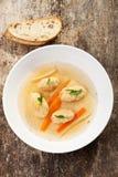 Dumpling soup Stock Image